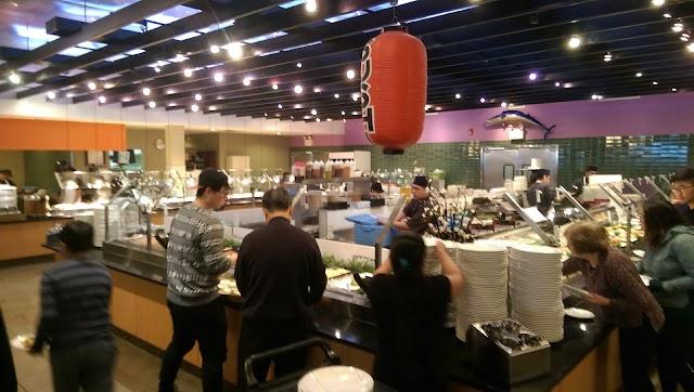 Minado Japanese Seafood Buffet Restaurant