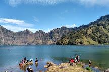 Segara Anak Lake, Lombok, Indonesia