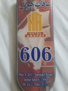 Hotel Arafat karachi