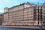 Общежитие №1 Санкт-Петербургского государственного архитектурно-строительного университета, набережная реки Фонтанки на фото Санкт-Петербурга