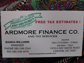 Ardmore Finance Inc Payday Loans Picture