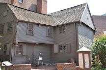 The Paul Revere House, Boston, United States
