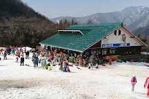 Okutone Snow Park, Minakami-machi, Japan