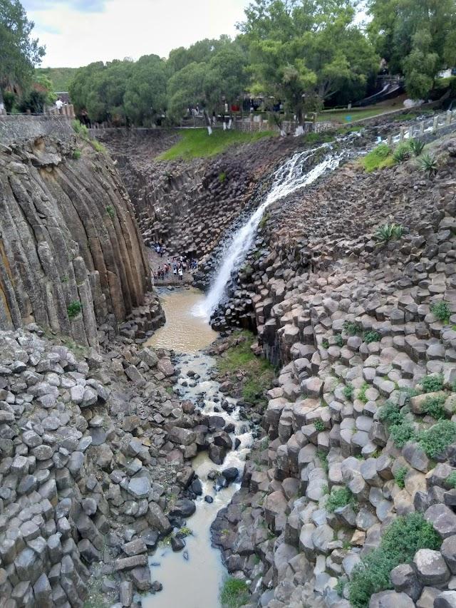 Prismas Basalticos Huasca, estado de Hidalgo
