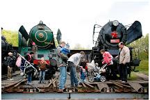 Czech Railways Museum, Luzna, Czech Republic