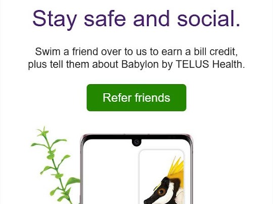 Telus Refer a Friend