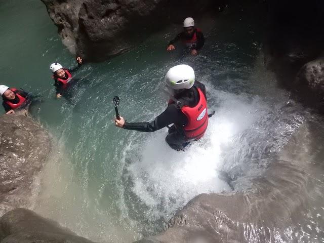 Canyoning Moalboal Cebu Philippines