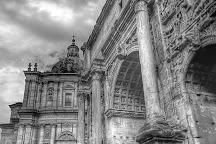 Arco di Settimio Severo, Rome, Italy