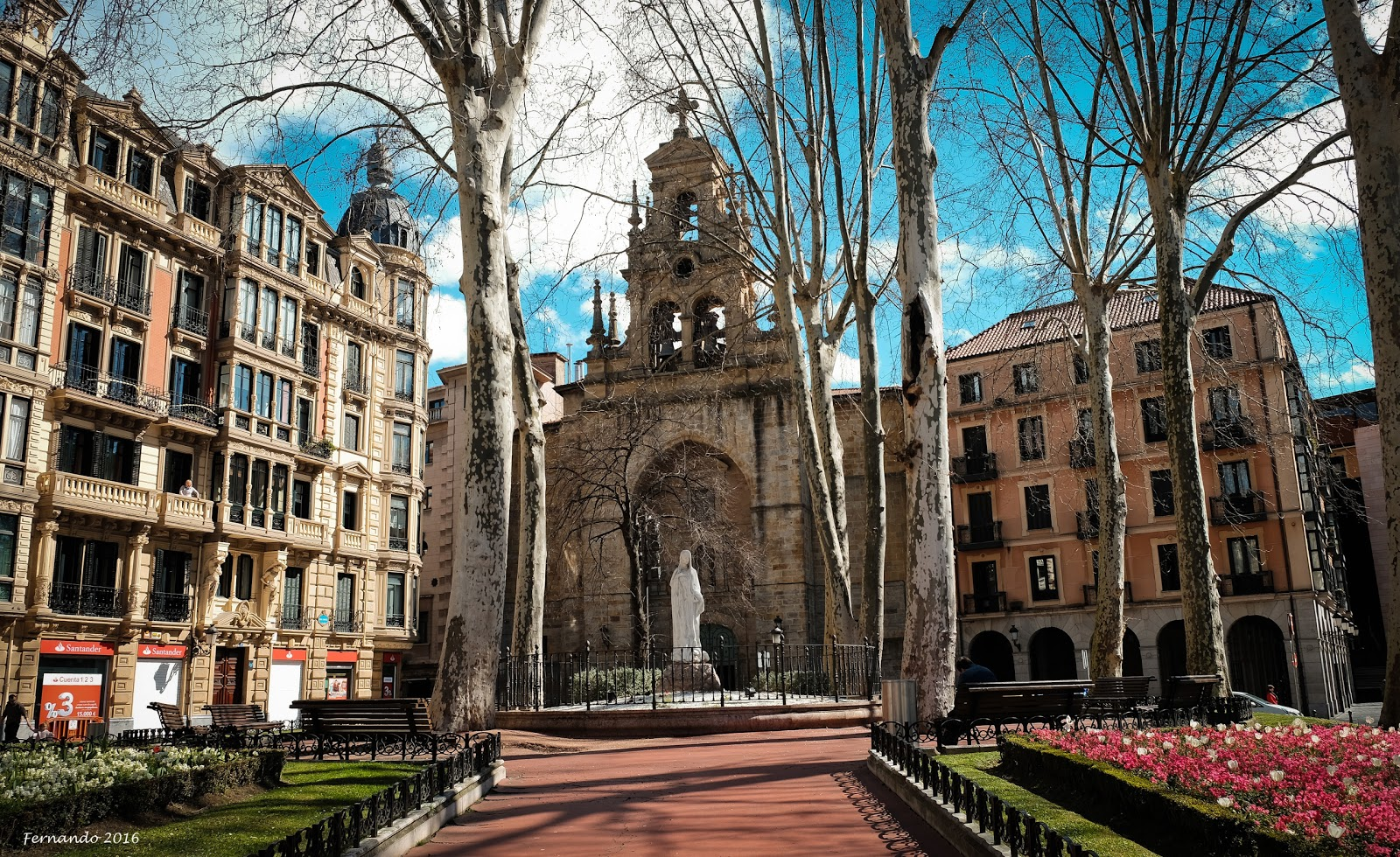 Visit Parroquia De San Vicente Mártir De Abando On Your Trip To Bilbao