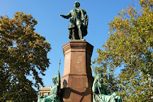 Istvan Szechenyi Statue, Budapest, Hungary
