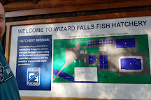 Wizard Falls Fish Hatchery, Camp Sherman, United States