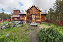 Pielpajarvi Wilderness Church, Inari, Finland