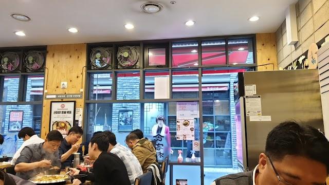 SikGaekChon (CheongJin Shopping Street)