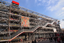Centre National d'Art et de Culture George Pompidou, Paris, France