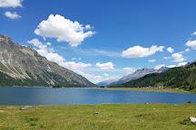 Lake Sils, Sils im Engadin, Switzerland