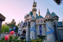 Fireworks at Disneyland Park, Anaheim, United States