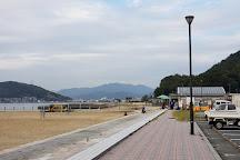 Bay Side Beach Saka, Saka-cho, Japan