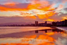 Canto do Forte Beach, Praia Grande, Brazil