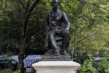 Statue of John Stuart Mill, London, United Kingdom