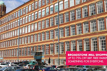 Broadstone Mill Shopping Outlet, Stockport, United Kingdom