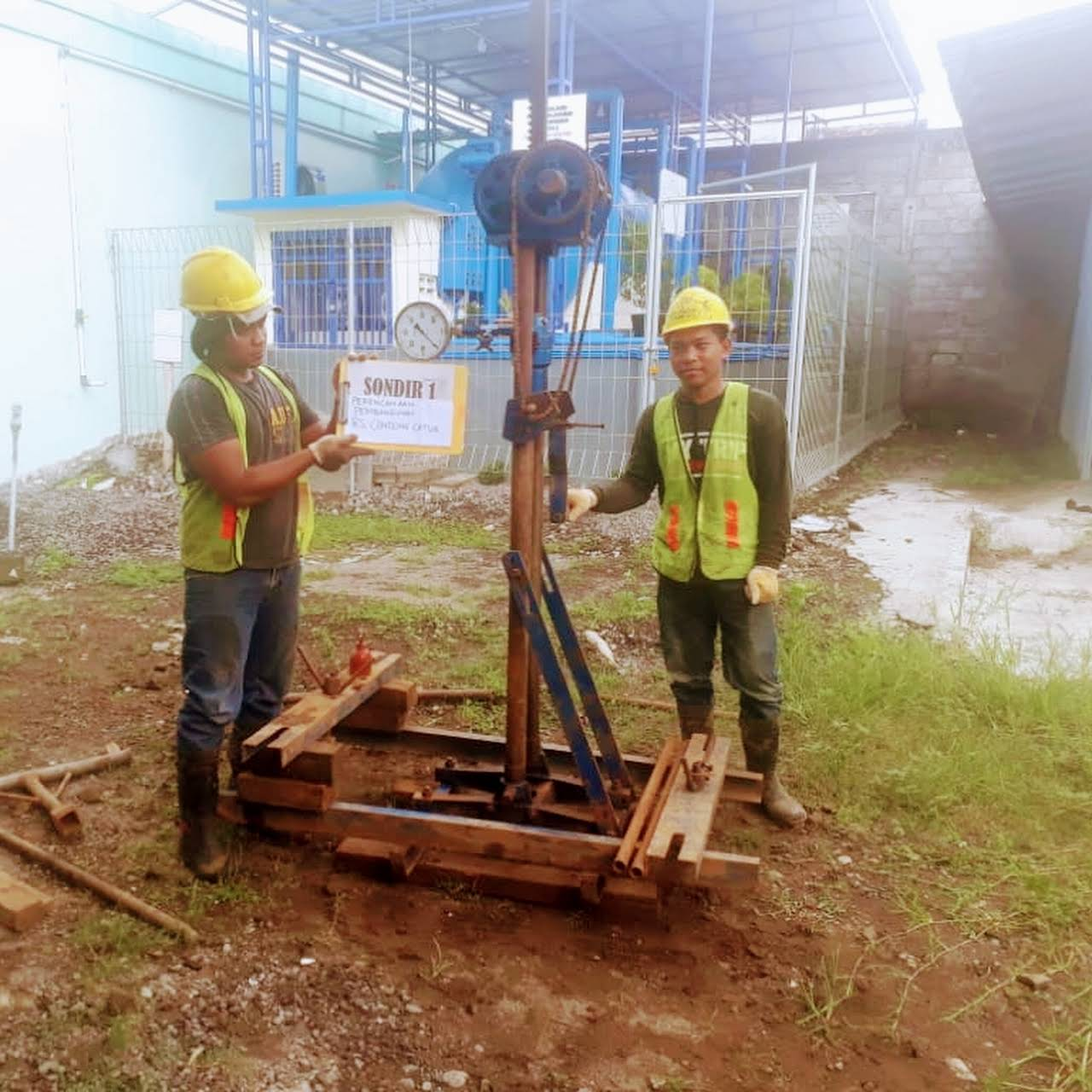 Berkah Bumi Jasa Sondir Tanah Soil Testing Service