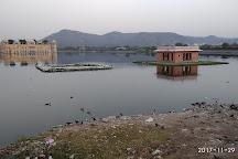 Man Sagar Lake, Jaipur, India
