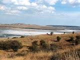 Пляж села Курортне близько Керчі