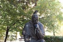 Taras Shevchenko monument, Budapest, Hungary
