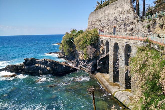 Passeggiata Anita Garibaldi a Nervi, Genoa, Italy