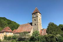 St Peter und Paul Kirche Detwang, Rothenburg, Germany