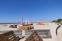 Parnu Beach Promenade, Parnu, Estonia