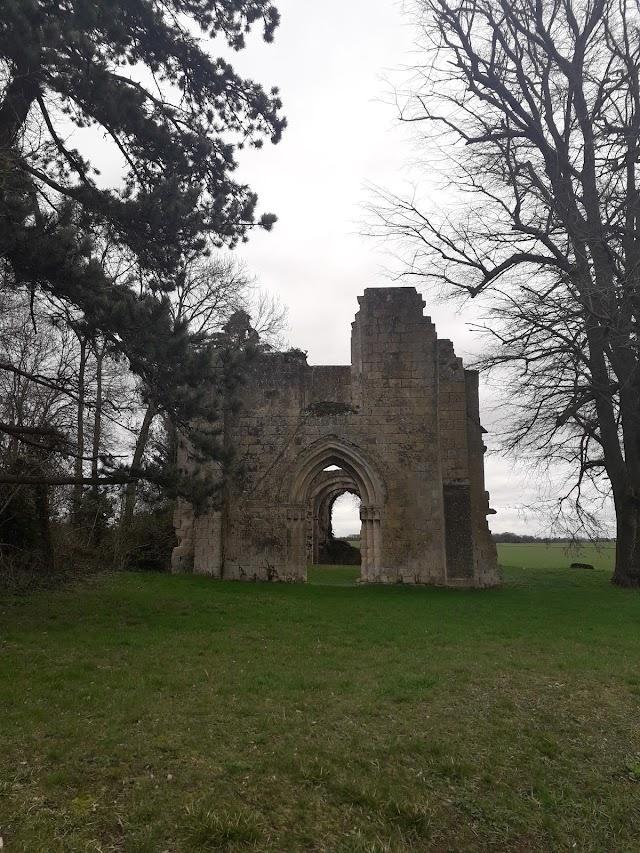 Ruine de la Chapelle romane