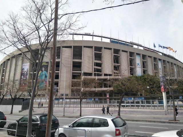 Accés 14 Camp Nou