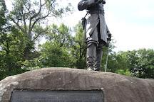 Monument to Brigadier General Gouverneur Kemble Warren, Gettysburg, United States
