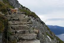 Melderskin (1426 moh), Rosendal, Norway