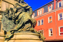 Ludwig-Eisenbahn-Denkmal, Nuremberg, Germany