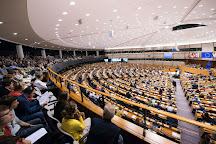 European Parliament (Hemicycle visits), Brussels, Belgium