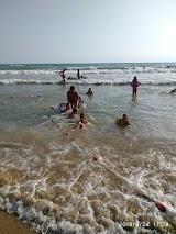 Пляж Акварель в Витязево