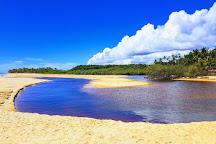 Rio da Barra Beach, Arraial d'Ajuda, Brazil