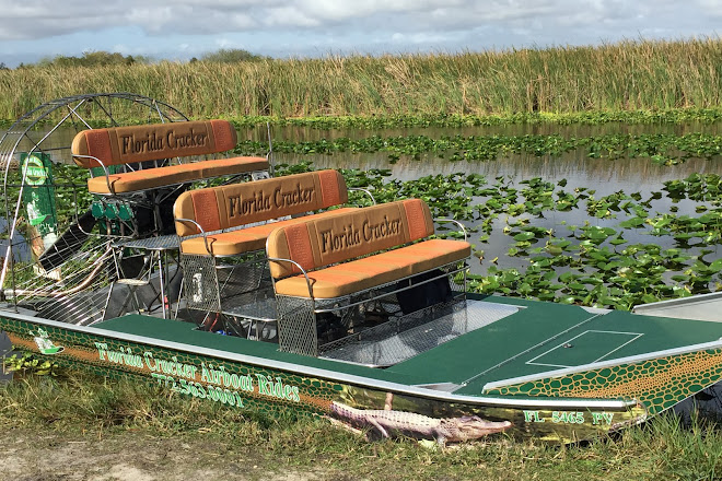 Visit Florida Cracker Airboat Rides & Guide Service on your
