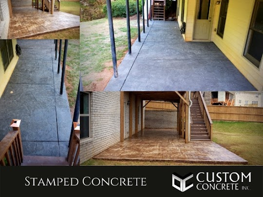 Stamped concrete in Alpharetta, GA