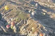 Rainbow Balloons, Uchisar, Turkey
