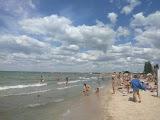 Пляж Дзержинец Бердянск