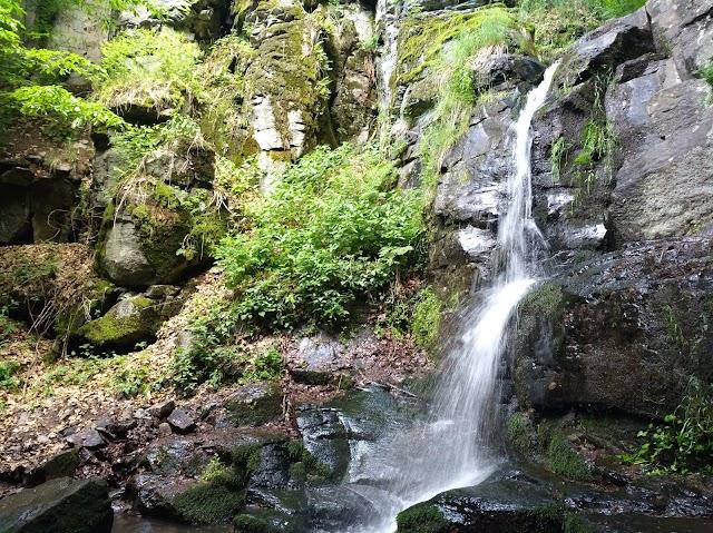 Starohutsky Waterfall