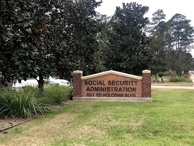 Social Security Office in 600 Sgt Ed Holcomb Blv Conroe , TX