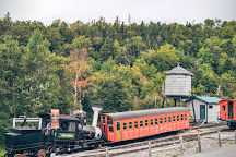 The Mount Washington Cog Railway, Bretton Woods, United States