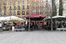 Plaza del Angel, Madrid, Spain