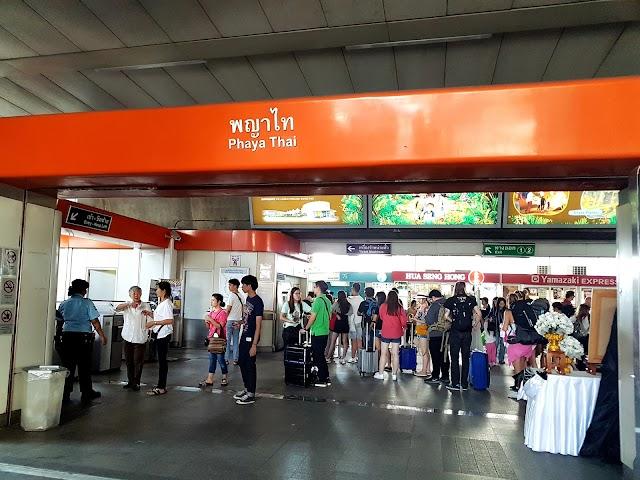 Phaya Thai BTS Station