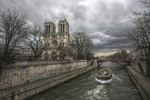 Petit-Pont-Cardinal-Lustiger, Paris, France