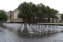Lifesaver Brunnen, Duisburg, Germany
